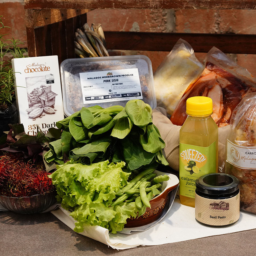 Malagos Homegrown Produce Bundle