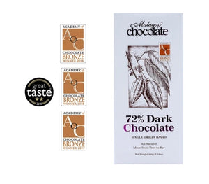 Malagos 72% Dark Chocolate