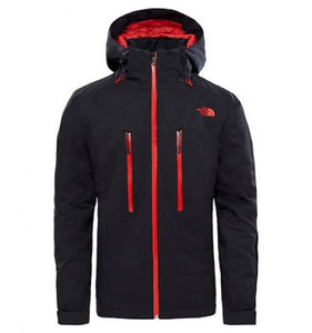 M CHAKAL JKT BLACK/CEN RED