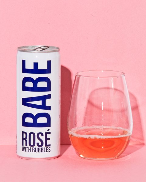 Babe Wine - Rosé with Bubbles