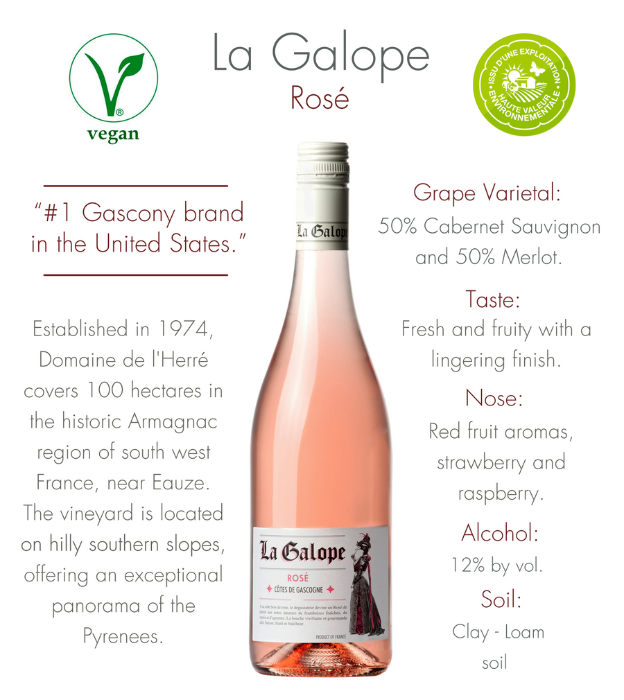 La Galope Rosé - 750ml