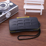 Waterproof Memory Card Case 12SD+12TF Capacity Storage Box