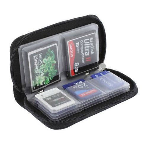 22 Slot Soft Storage Case Holder Pouch Micro Cards Memory Card Storage Wallet