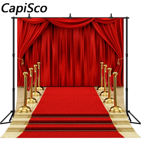 Photography Backdrop - Red Carpet