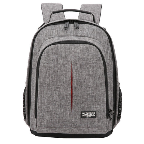 Soft-Shoulder Padded Camera Backpack