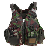 Adjustable Multi-Pocket Photographer Vests for Women & Men
