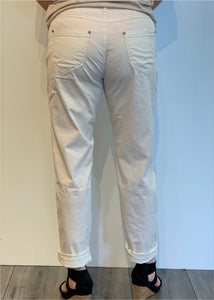 pants tapered light twill