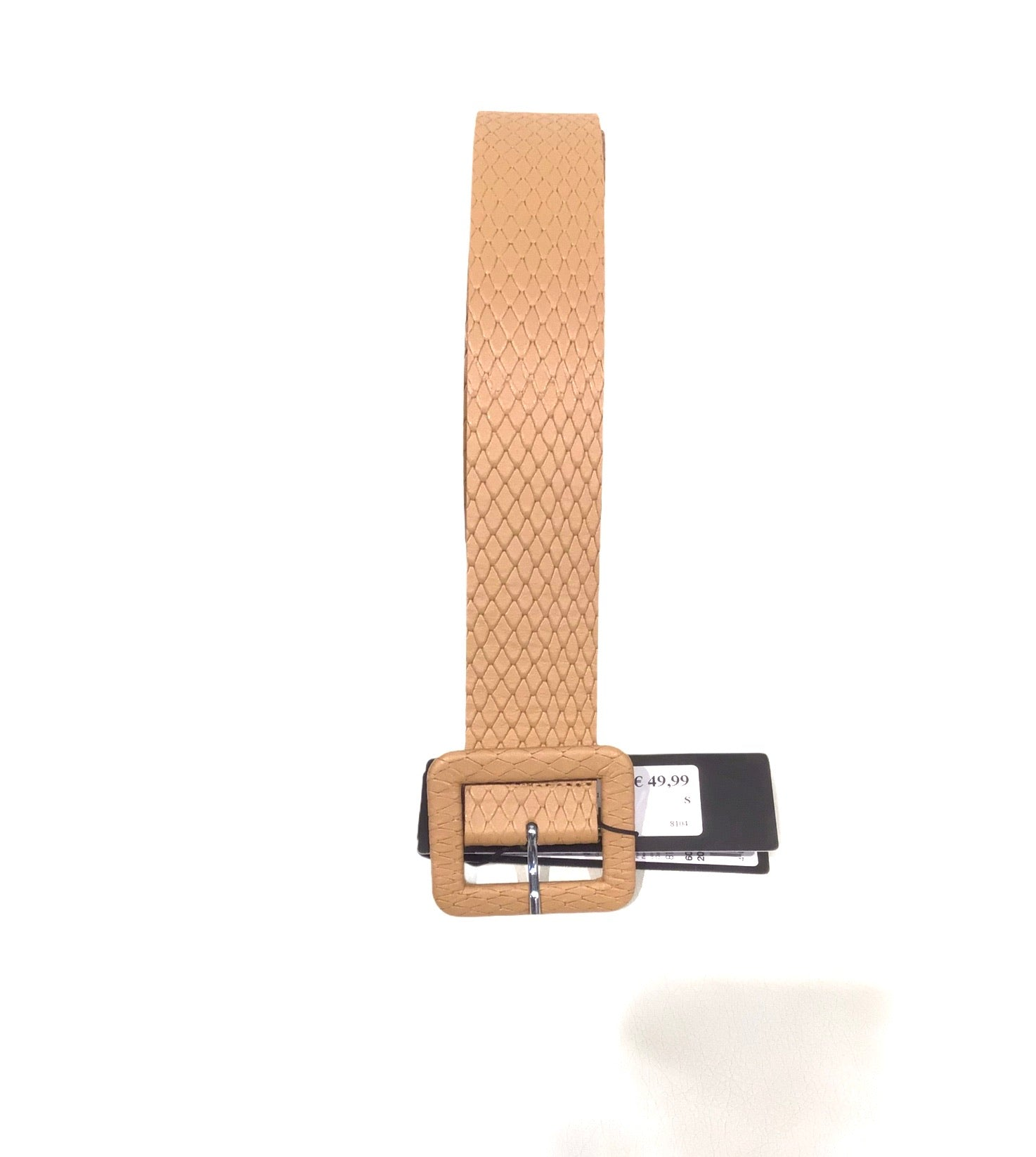 Belt Comma Beige
