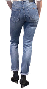 Bright tapered jeans
