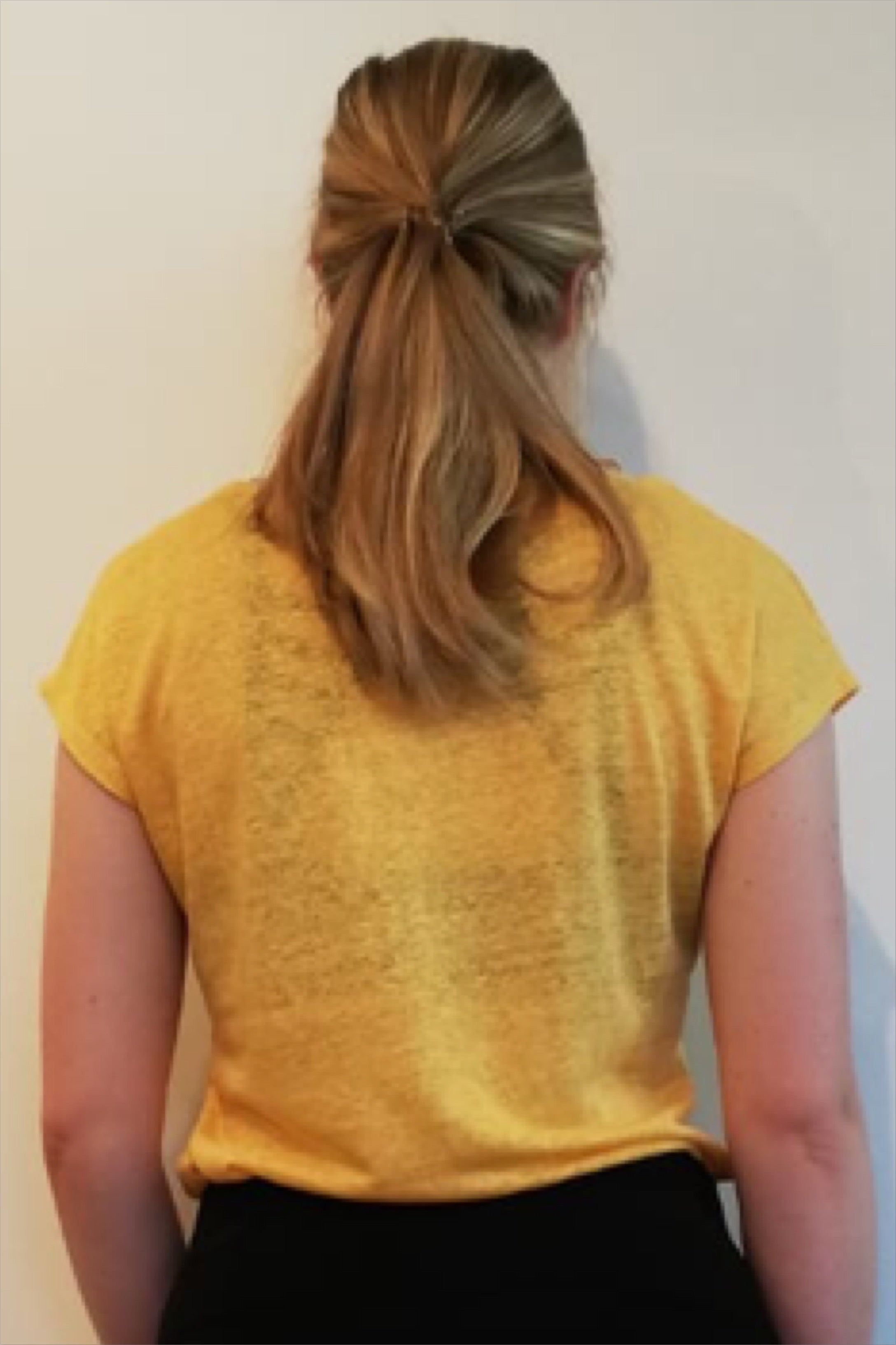 T-shirt linnen luxe yellow