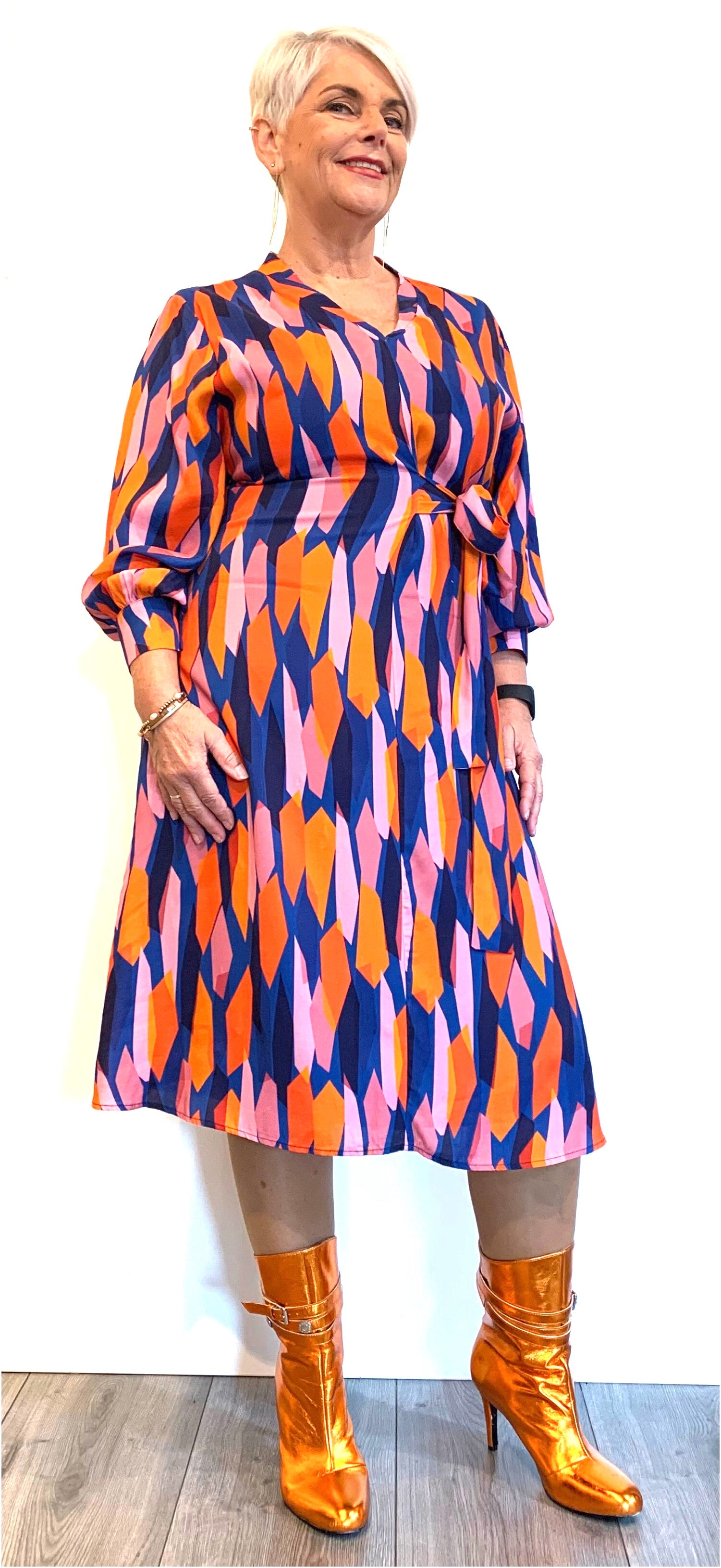 Dress Abstract Kala