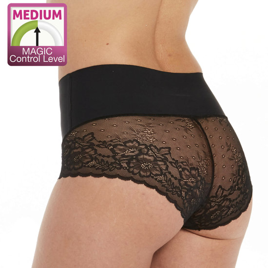 Slip Tummy Shaper Lace black