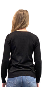Cardigan rachel lurex Black