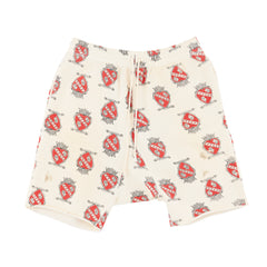 030 SWEAT SHORTS heart