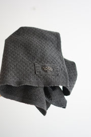 COTTON SASHIKO CHARCOAL DYED TENUGUI
