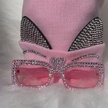 Load and play video in Gallery viewer, y2k Pink Bling Sunglasses