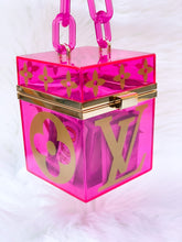 Load image into Gallery viewer, Pink Box Bag