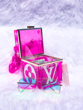 Load image into Gallery viewer, Pink Glitter Box