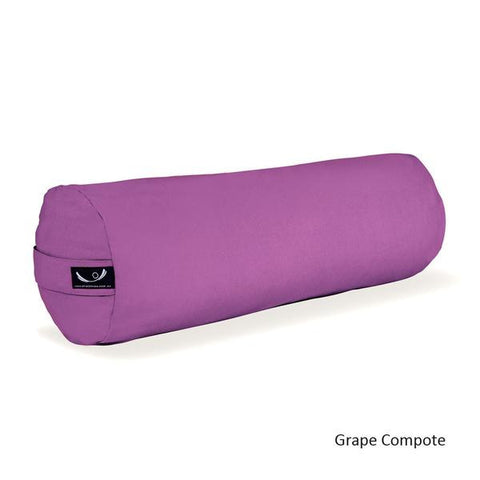 Grape Compote Organic Cotton Yoga Bolster