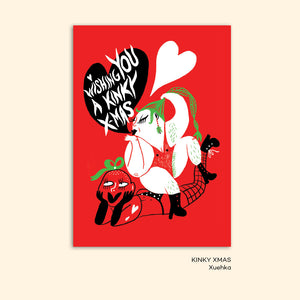 KINKY XMAS christmas card