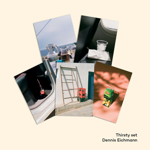 THIRSTY set of 5 postcards