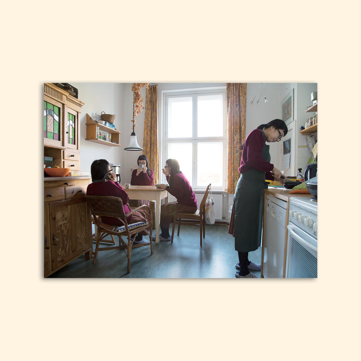 postkarte KITCHEN