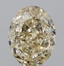 Load image into Gallery viewer, Oval Champagne Diamond