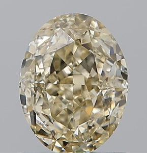 Oval Champagne Diamond