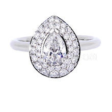 Load image into Gallery viewer, The 0.50ct Diamond Ashley Ring