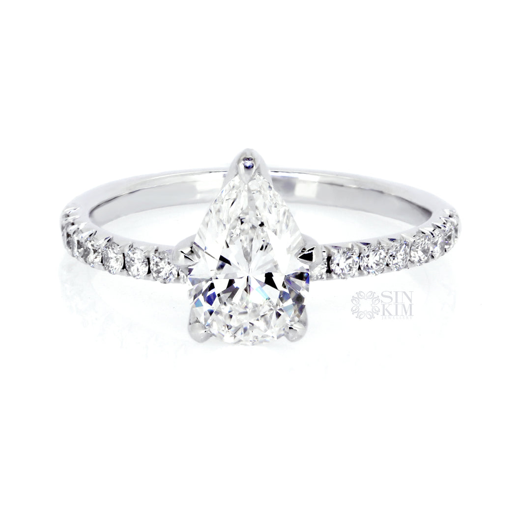 The 1ct Diamond Eva Ring