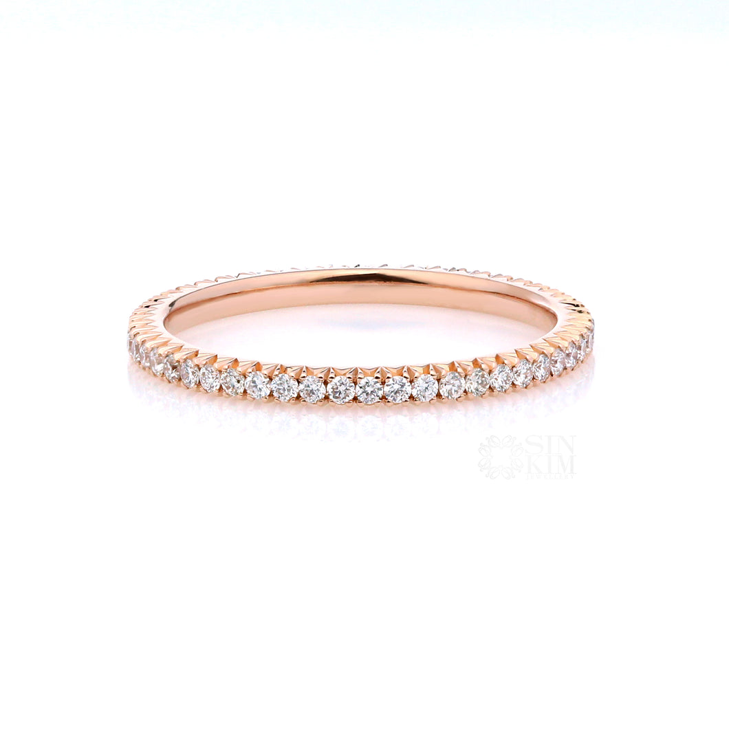 Celeste Diamond Eternity Band