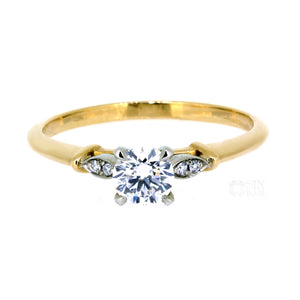 The Two Tone 0.40ct Laura Ring