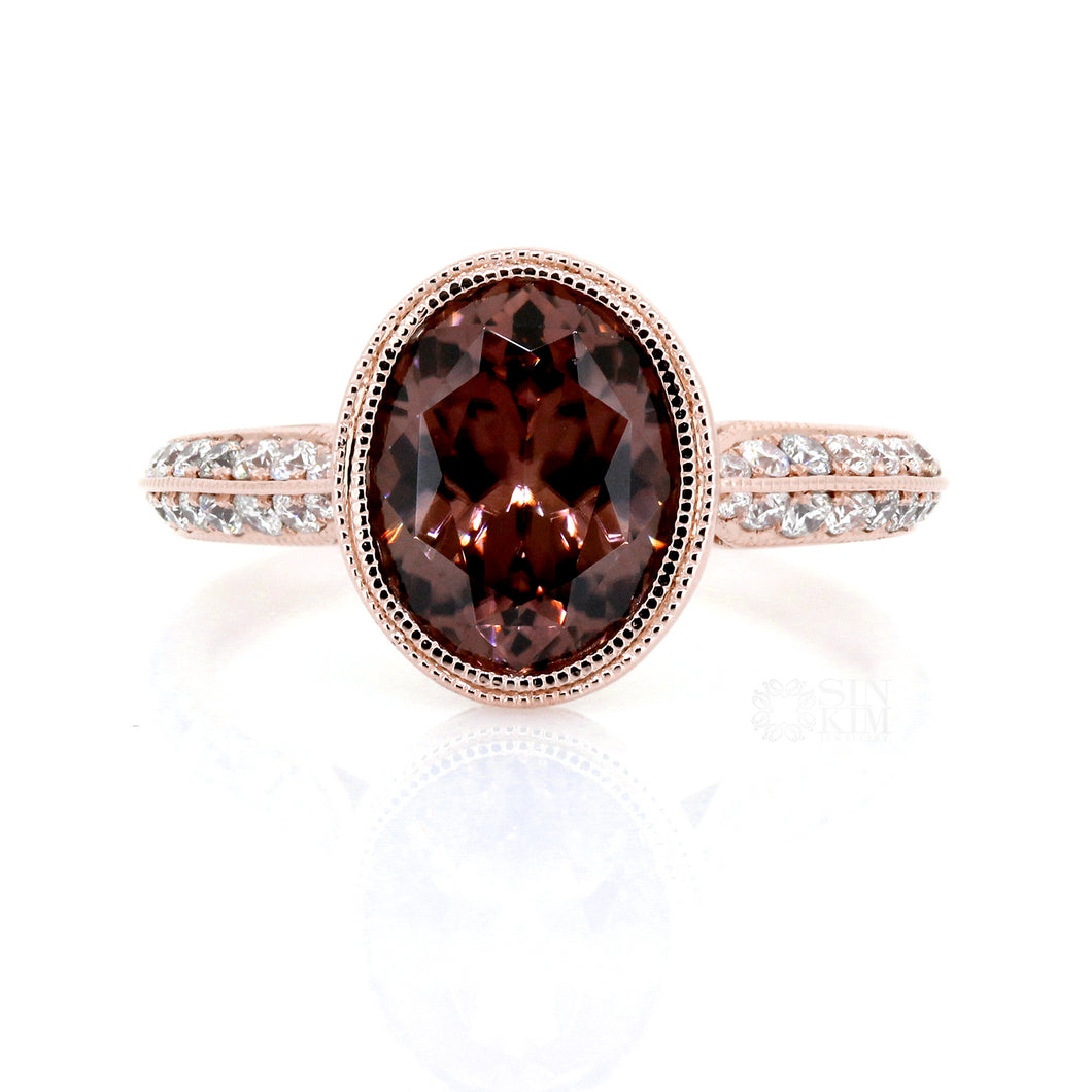 The 3.91ct Zircon Zea Ring