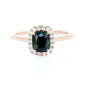 The 1.29ct Sapphire Amy Ring