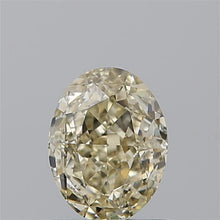 Load and play video in Gallery viewer, video of modified oval cut champagne diamond. GIA certified 1ct VS2 Loose Gemstone