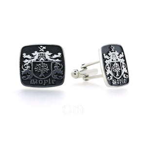 Custom Family Crest/Logo Cufflinks