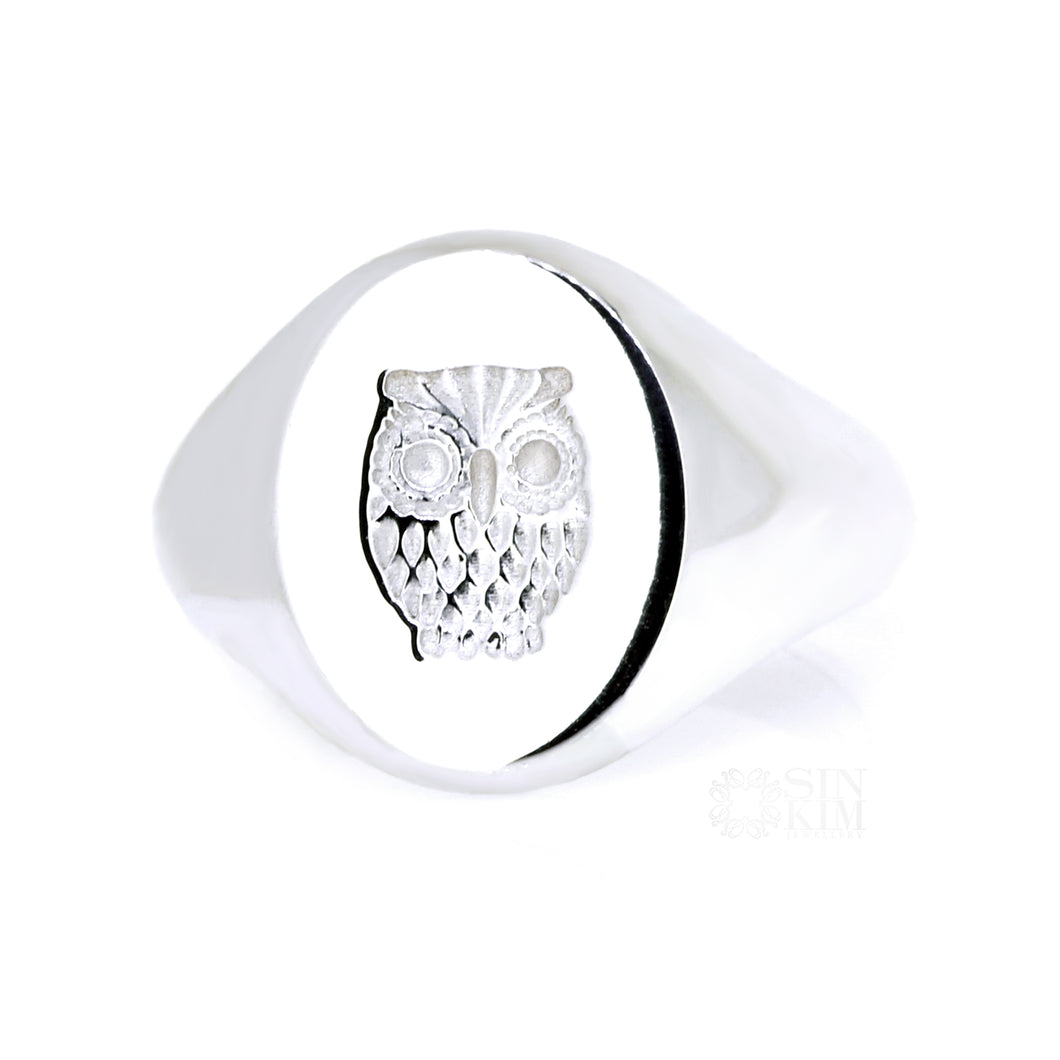 The Owl Signet Ring