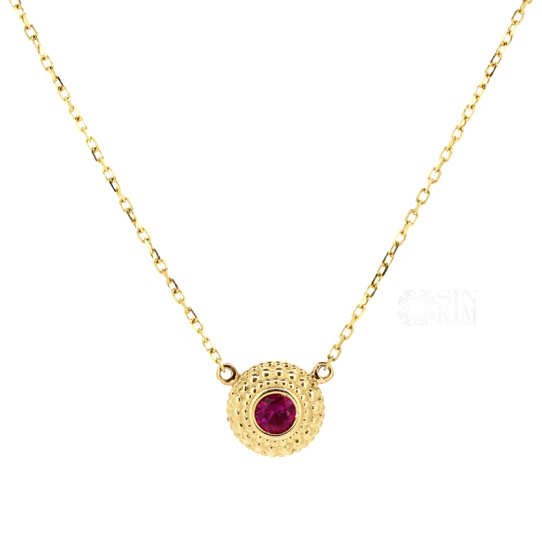 The Ruby Millie Necklace