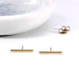 Bar: Minimal Every Day Earrings