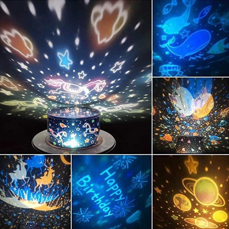 360 Rotation Starry Sky Projector - KOLLMART
