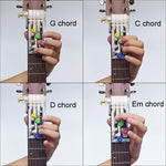 Acoustic Guitar Chord Buddy Teaching Aid Tool - KOLLMART