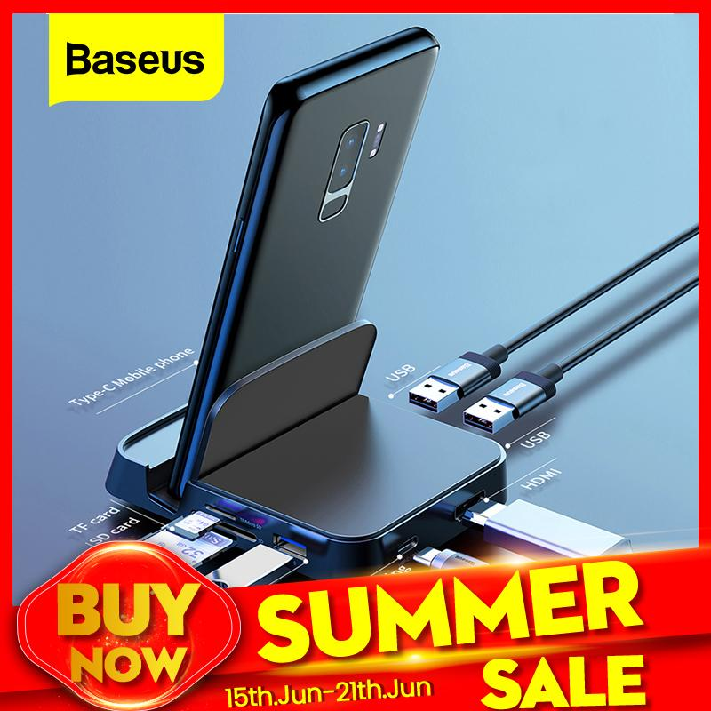 Baseus USB Type C For Samsung Adapter - KOLLMART