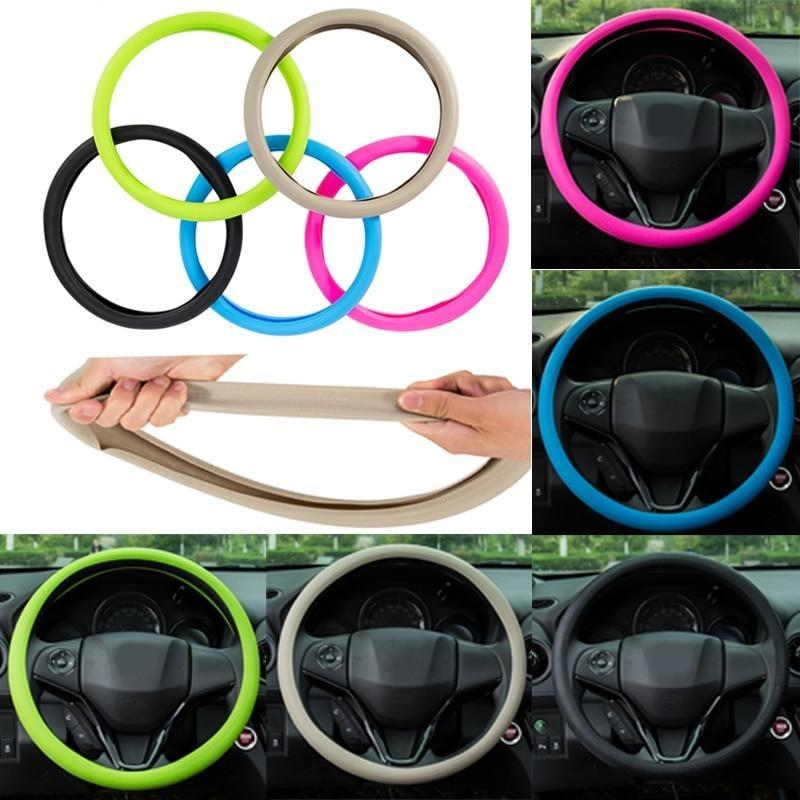 Car Steering Wheel Protective Cover - KOLLMART