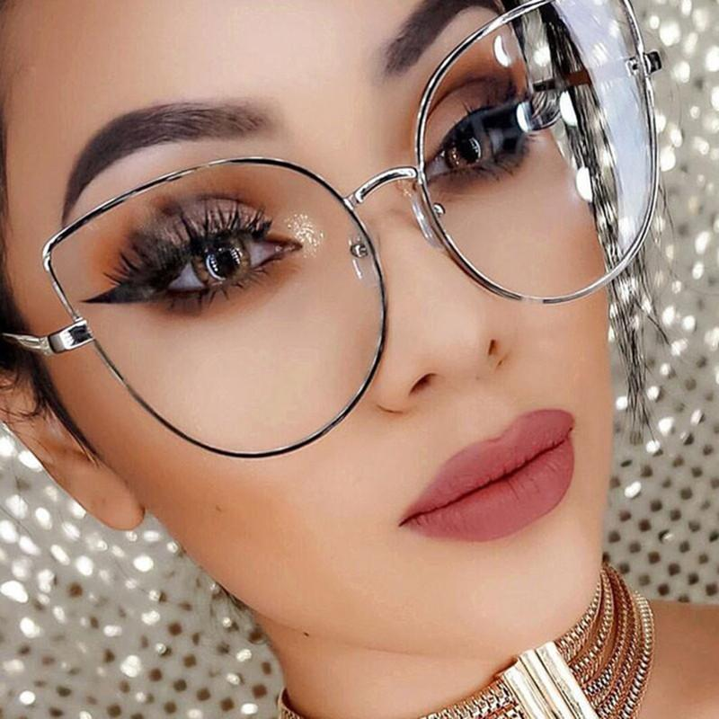Fashion Sexy Frame HD Clear Sunglasses - KOLLMART