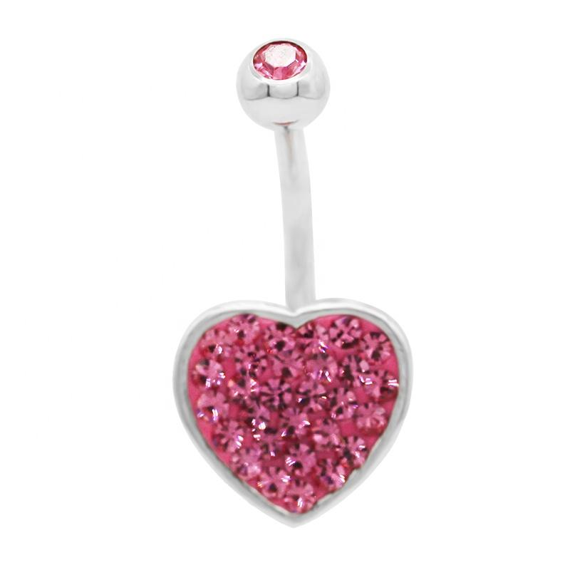 Heart Womens Body Jewellery - KOLLMART