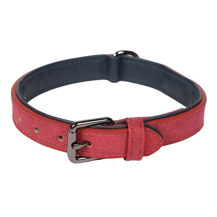 Luxury PU Leather Dog Collar - KOLLMART
