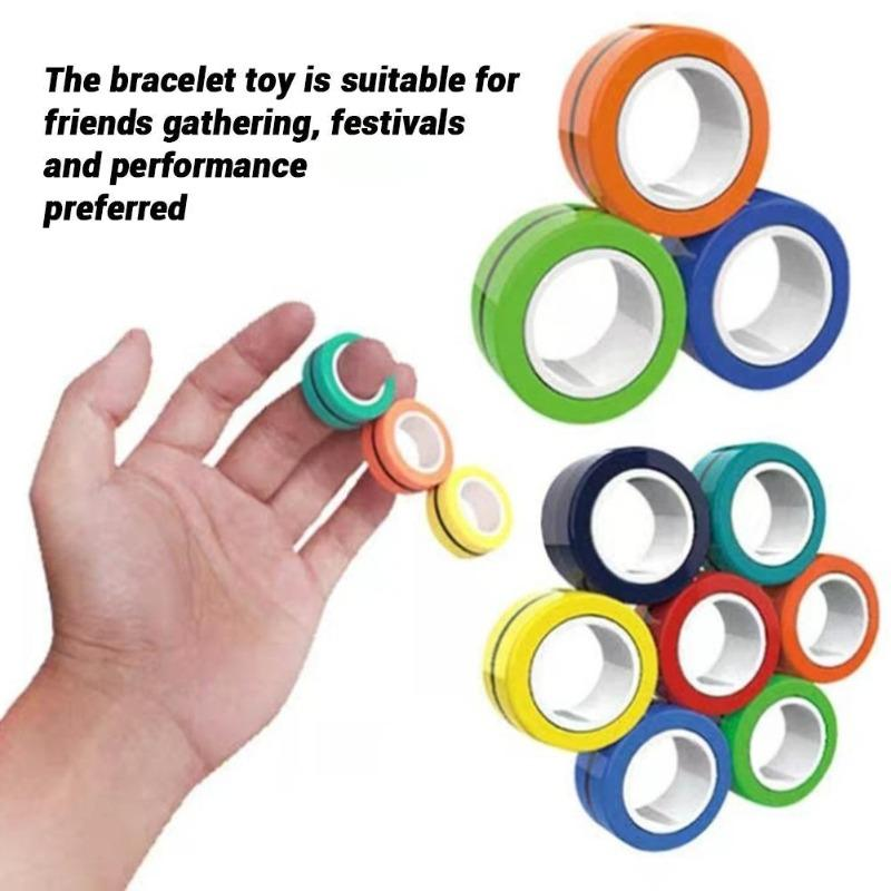 Magic Colorful Magnetic Ring - KOLLMART