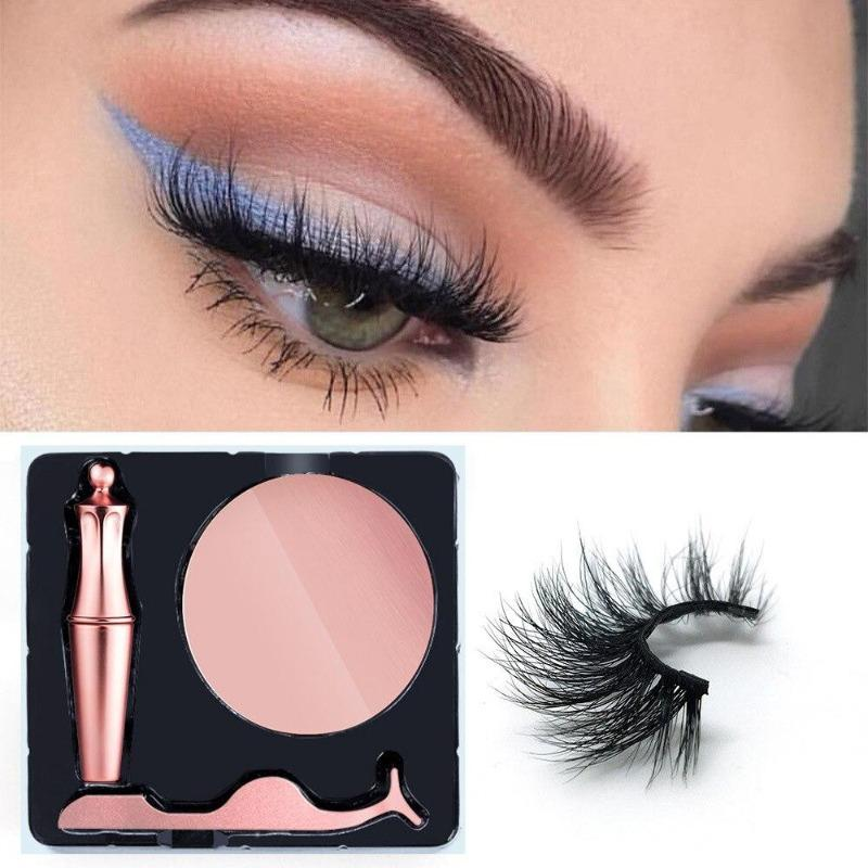 MAGNETIC EYELINER AND LASHES - KOLLMART