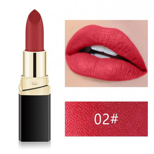 Miss Rose Lip Stick Beauty Nude Red Pink Lip Batom - KOLLMART