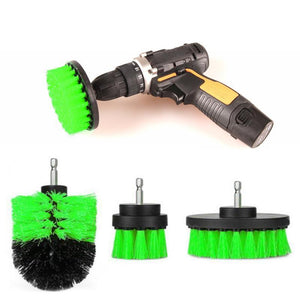 POWER SCRUBBER DRILL BRUSH KIT - KOLLMART